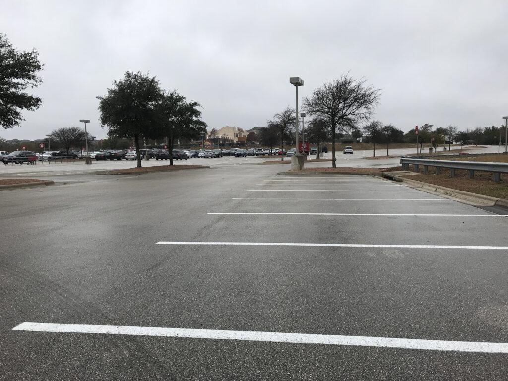 Wastelands of parking